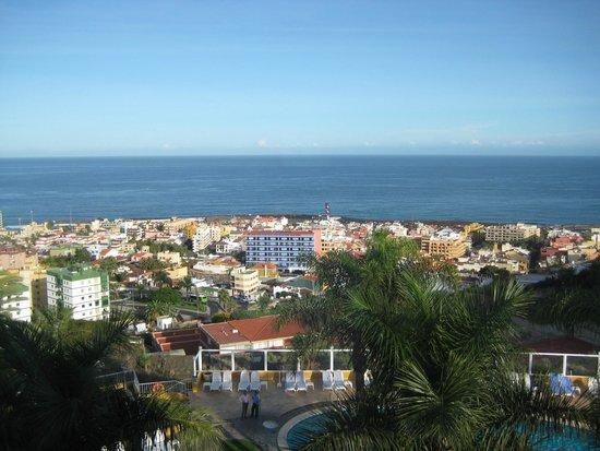 Hotel Tigaiga: Blick vom Zimmer auf Puerto de la Cruz und den Atlantik