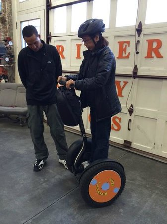 River City Segs: Learning how to Ride a Segway
