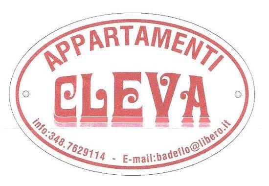 Appartamenti Cleva: CARTELLO