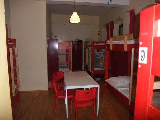 Hostel Mondpalast: 10-Bett-Zimmer