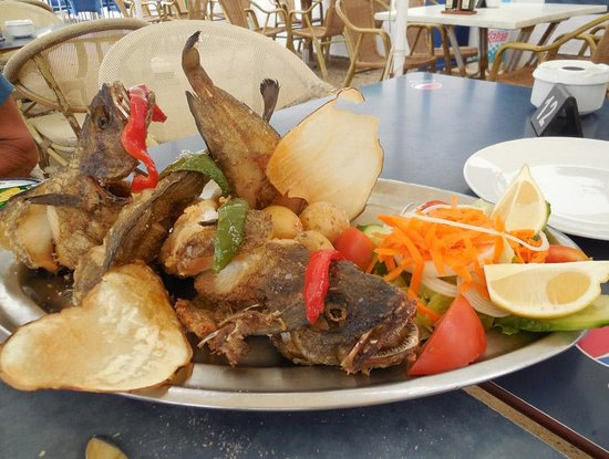 Restaurante Sol: lovely fishplate
