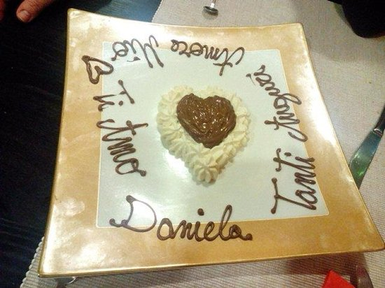 Tanti Baci Restaurant : Semplice ma nello stesso tempo è molto Romantico!!!!
