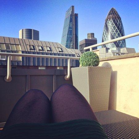 Chamberlain Hotel: Relaxing
