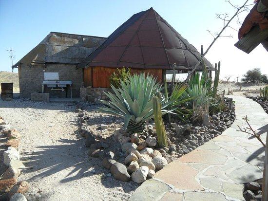 Camp Gecko Tented Camp : restaurant / lapa