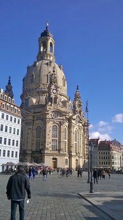 art'otel dresden: Frauenkirch Church