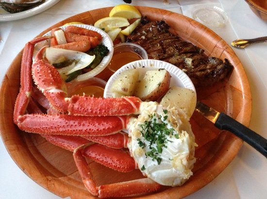 surf n turf incl crabs picture of rustic inn crabhouse fort lauderdale tripadvisor. Black Bedroom Furniture Sets. Home Design Ideas