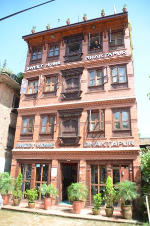 Sweet Home Bhaktapur: Front view