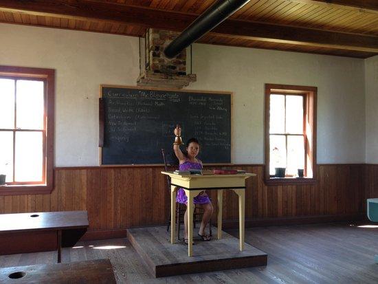 Mennonite Heritage Village: one room school