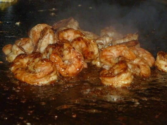 Hamada of Japan: shrimps