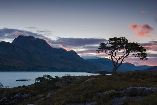 Kinlochewe Hotel: Local view within driving distance - Slioch on Loch Maree.