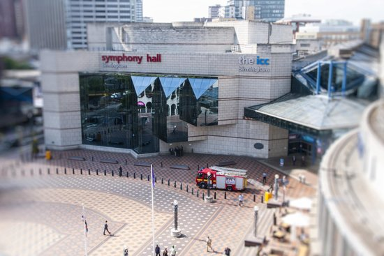 symphony hall from the new library