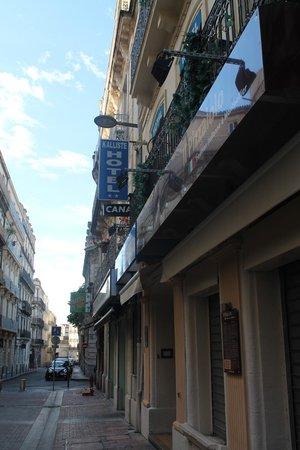 Hotel Kalliste: Hôtel de l'extérieur