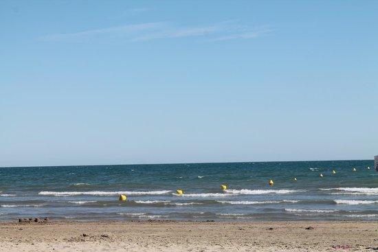 Hotel Kalliste: La mer
