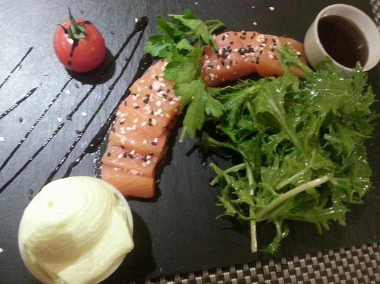 Grain de Folie: saumon