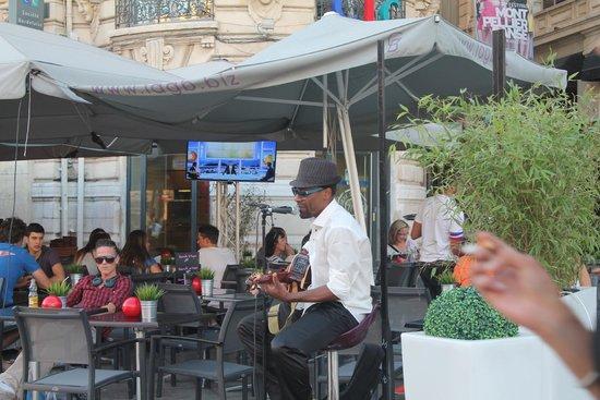 Hotel Kalliste: Restaurant