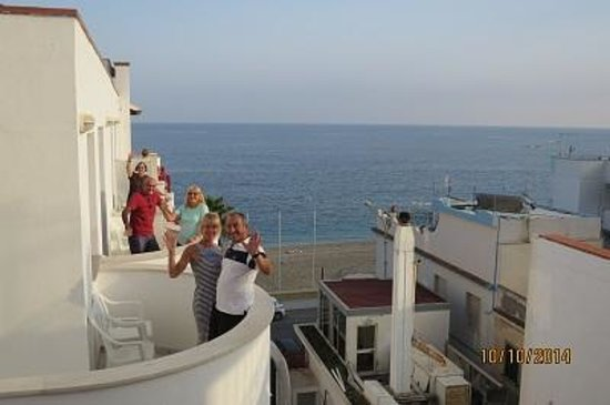 Hotel Albatros : Our group