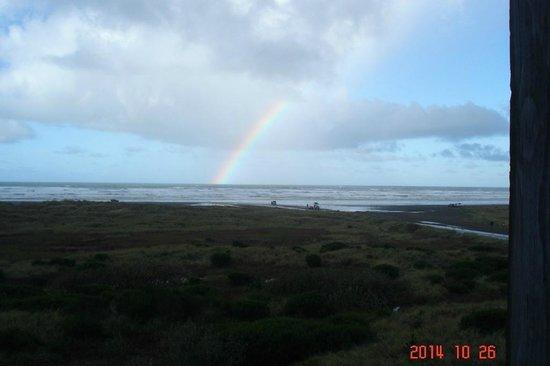 Best Western Lighthouse Suites Inn: Beautiful rainbow