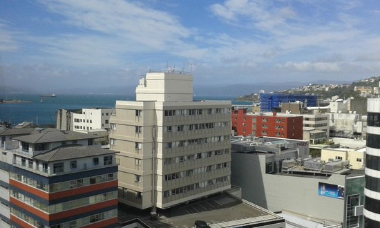 Mercure Wellington Central City Hotel and Apartments : view from room 1202