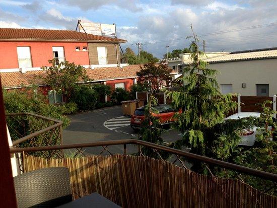 La Baie des Landes : Depuis le balcon