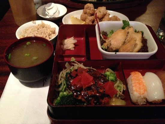 Yamamori Noodles : Regular Bento Box