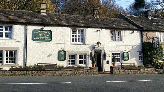 Restaurant at The Chequers Inn: The Chequers Inn, Froggatt Edge, Calver