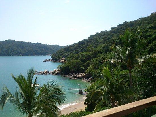 Camino Real Acapulco Diamante: vista de la bahía desde la habitación