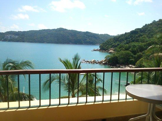 Camino Real Acapulco Diamante: vista desde el balcón