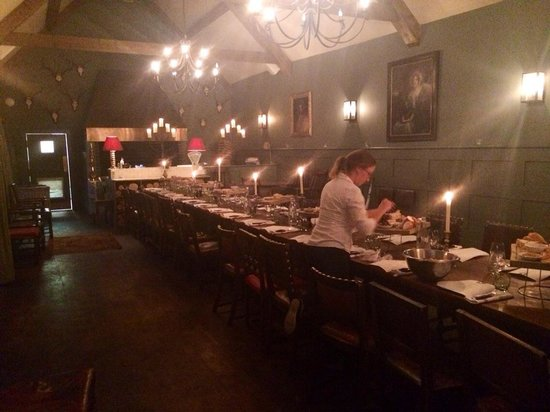 The Talbot Inn: Stunning private dinner they did for us