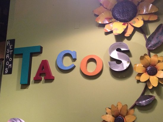 Crafted, The Art of the Taco : wall decoration