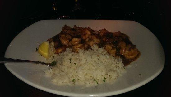 Pappadeaux Seafood Kitchen : Shrimp Etouffe