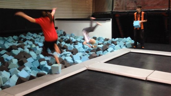 Over Priced Picture Of Bounce Indoor Trampoline Parks