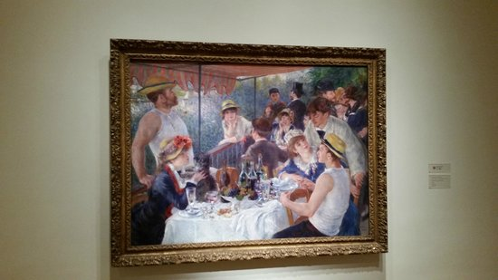 The Phillips Collection: Luncheon of the Boating Party - Pierre - Auguste Renoir