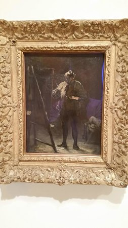 The Phillips Collection: The Painter at His Easel - Honore Daumier