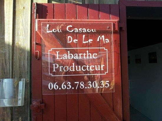 Degustation Huitres Hossegor Lou Casaou De Le Ma: Lou casaou de la ma