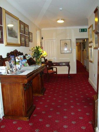 Abbey Lodge : Rezeption/Eingangsbereich