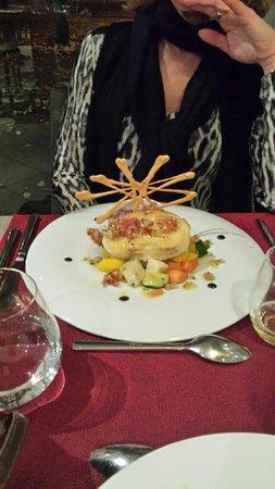 Le Carre Restaurant : Dos de cabillaud, côté face