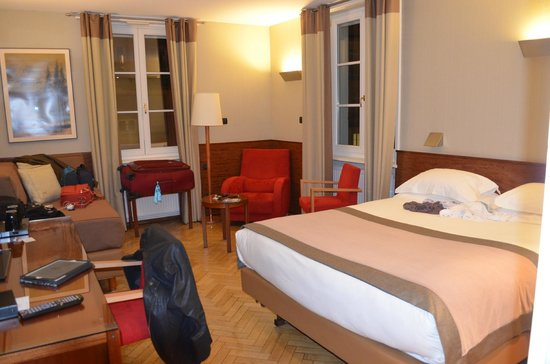 Hotel Hannong: nosso quarto