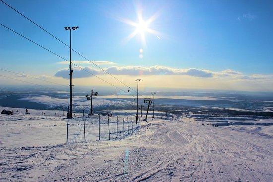 Ski Resort Big Wood: На склоне
