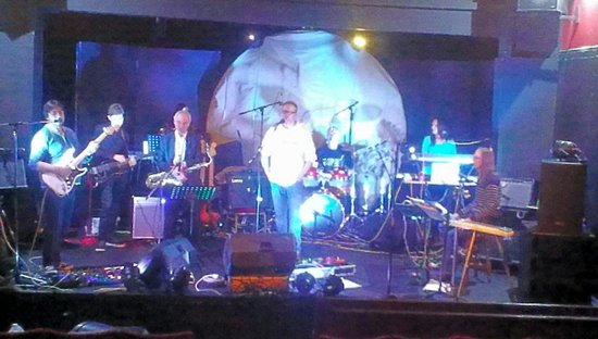 Time is Money, Lincolnshire's own Pink Floyd tribute band tuning up....