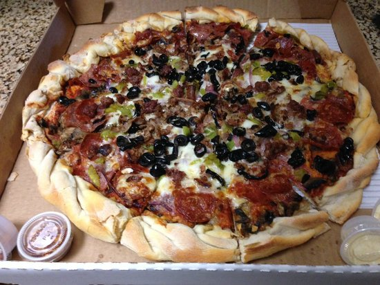 Jackpot Pizza Picture Of Lake Tahoe Pizza Co Lake Tahoe