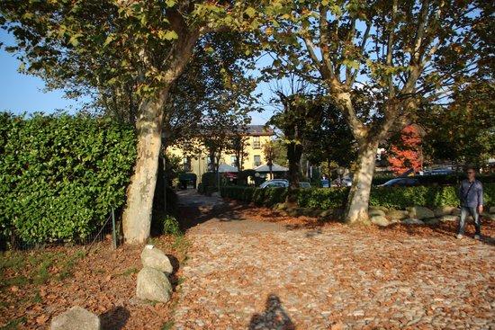 Hotel Ristorante Vecchia Riva: Hotel view from the shore