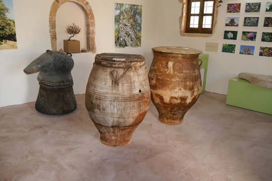 Vouves, Greece: Olivenmuseum