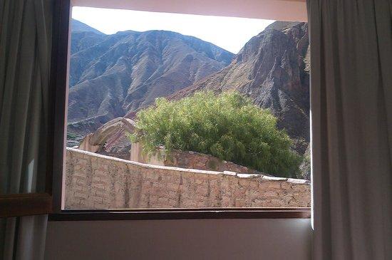 Hotel Iruya: vista desde la ventana de la habitacion
