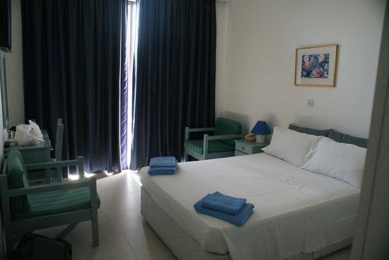 Axiothea Hotel: onze kamer