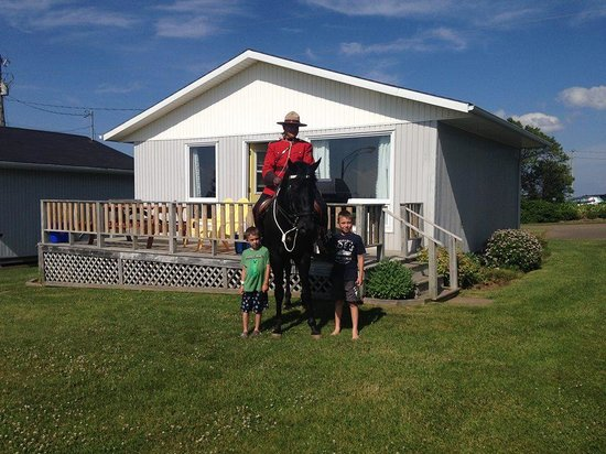 Cavendish Bosom Buddies Cottages and Suites: RCMP visit