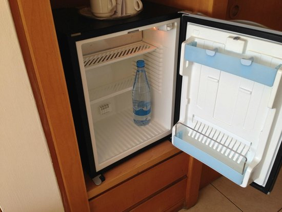 Room fridge picture of avanti hotel paphos tripadvisor for Small room fridge