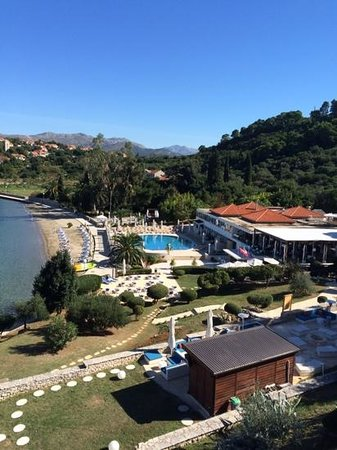 Sensimar Kalamota Island Resort: Lounge Balcony