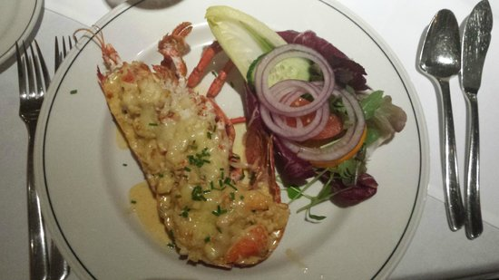Ristorante Da Vinci: Lobster Thermidor starter