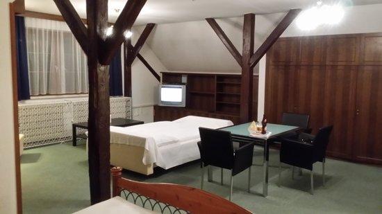 Hotel Mariahilf: Suíte de tamanho excepcional