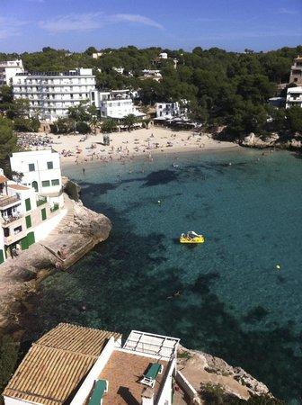 Hotel Pinos Playa: Aussicht vom Hotelzimmer